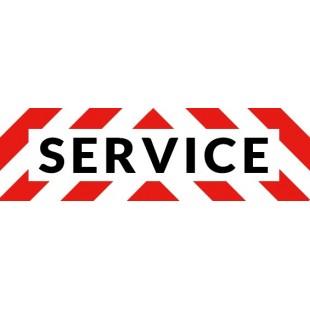 Service en 100cm*30cm